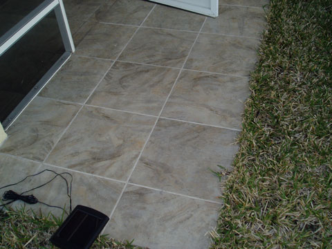 Lovely Trinity Tile Stone Patio Pic1