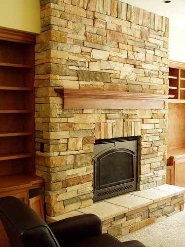 Trinity Tile And Stone Fireplace 1