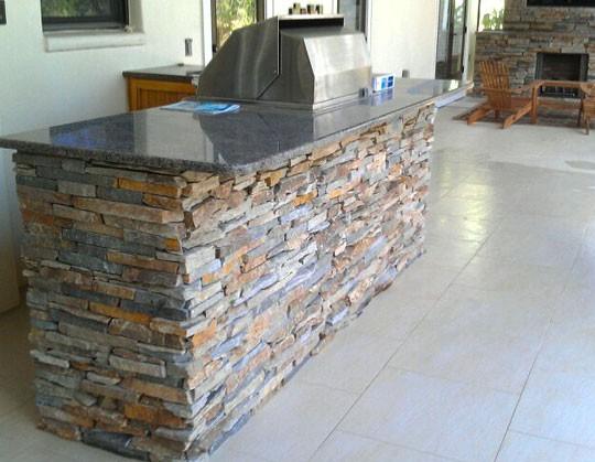 Outdoor Kitchen Tile : Outdoor Kitchen - Trinity Tile and Stone  Trinity Tile and Stone